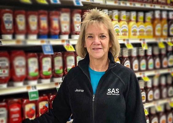 Jeanie W, ISA Team Merchandiser